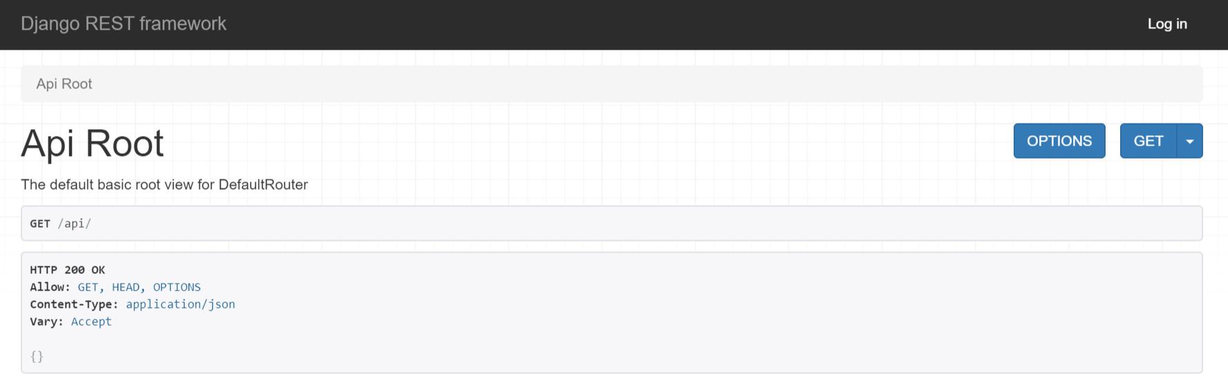 API 交互后台